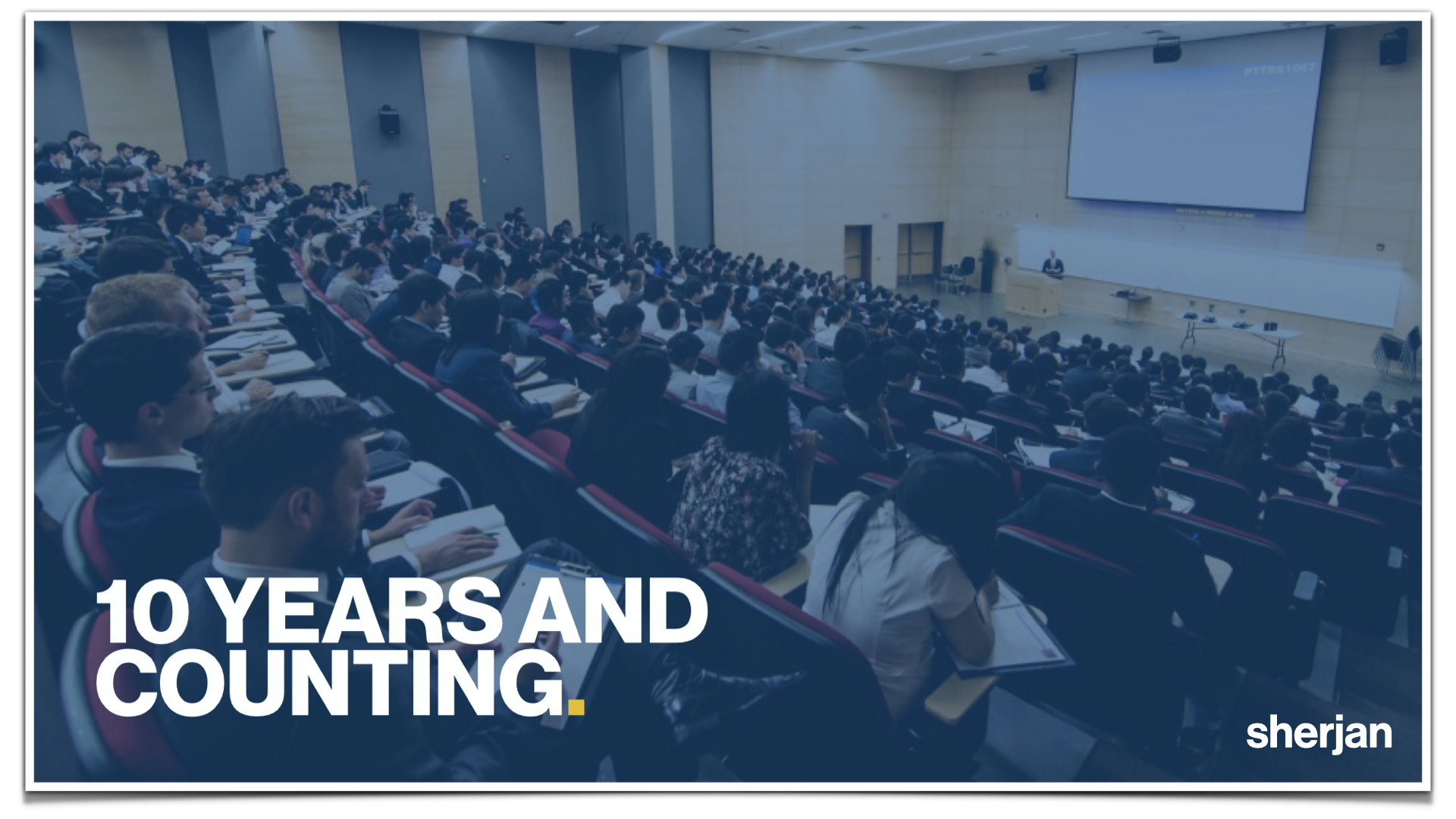 Breaking into Investment Banking, Consulting, and Accounting - 10 Years Sherjan
