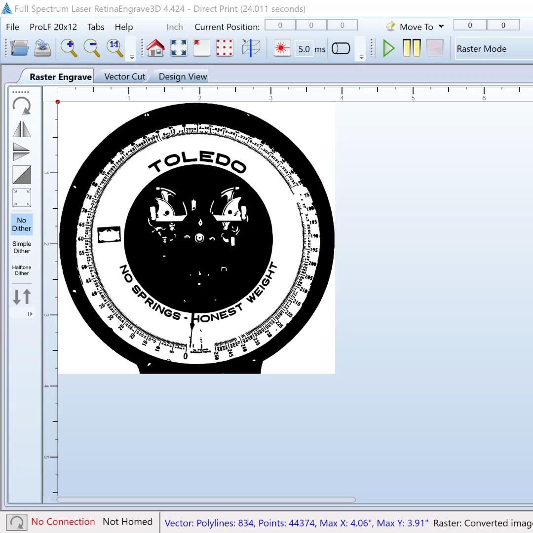 retina engrave video presentation
