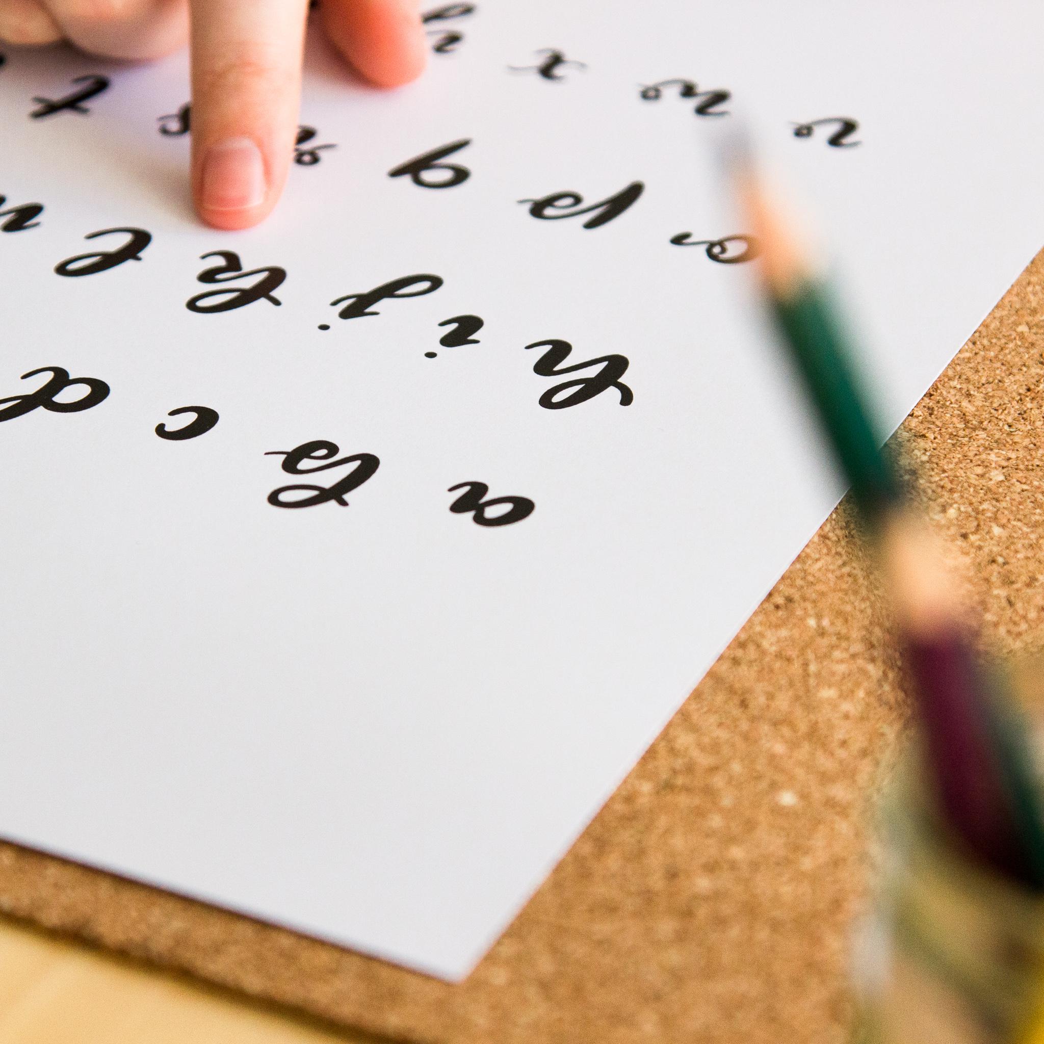 Brushlettering Alphabet