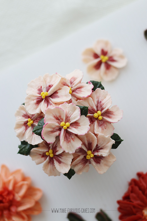buttercream blossoms