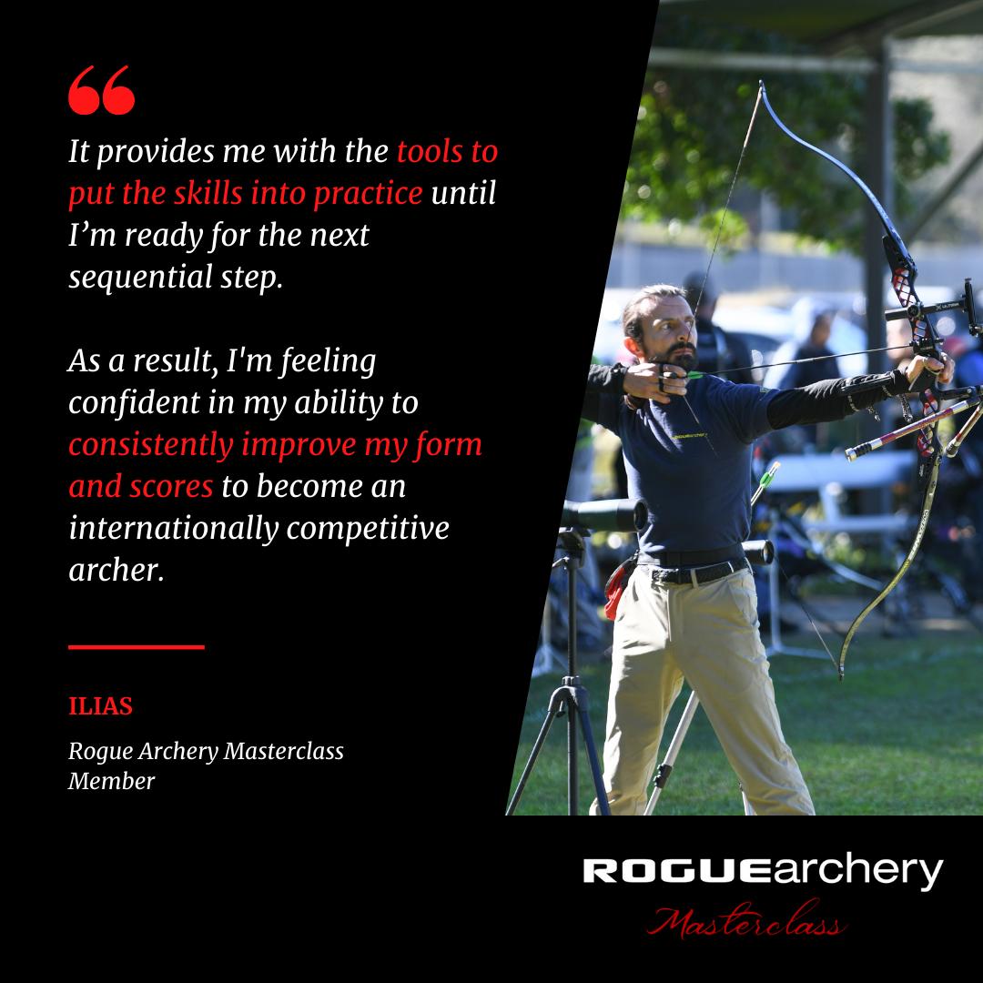 Ilias the Greek | Ilias Katsapouikidis | Recurve Archery Technique Fundamentals | Archery Coaching | Rogue Archery Masterclass | Olympic Archery | Online Coaching | Archery Form