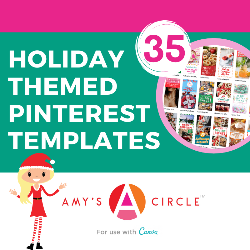 Amy Locurto Holiday Pinterest Templates