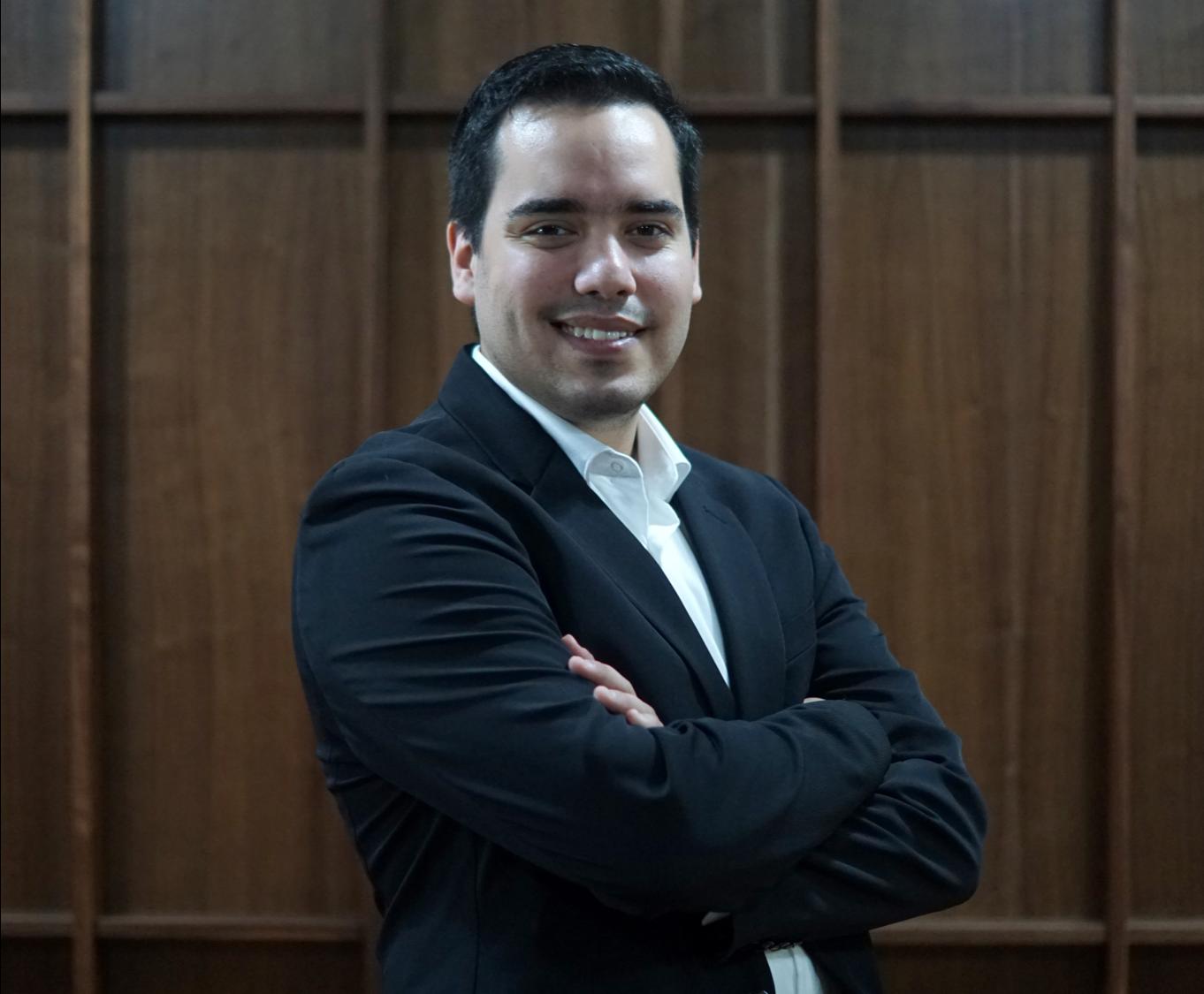 Luis Andrés Enciso Argándar, Cofundador y Director Operativo de SAGO