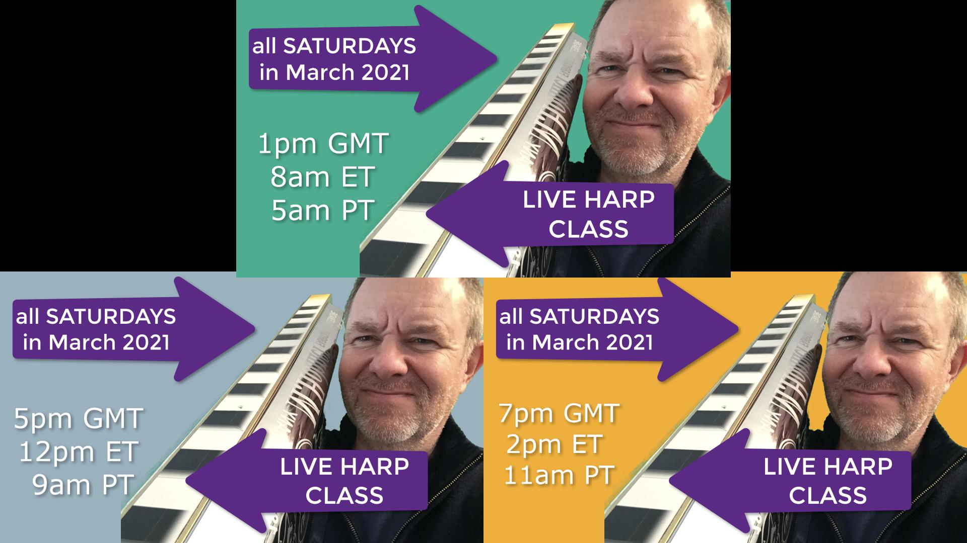 March live classes