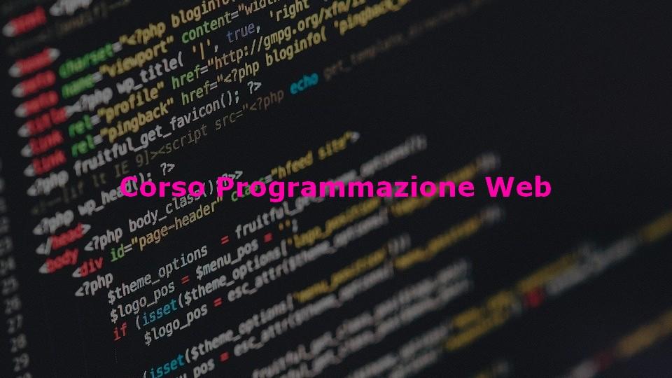 Diventa web developer e impara a sviluppare applicazioni web frontend e backend