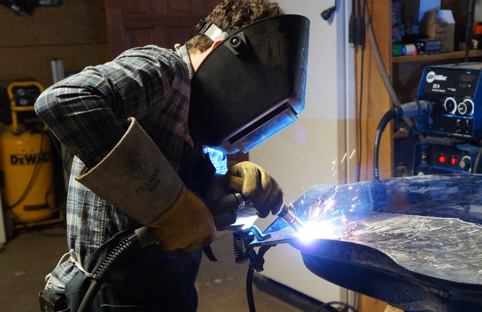 Learn how to weld