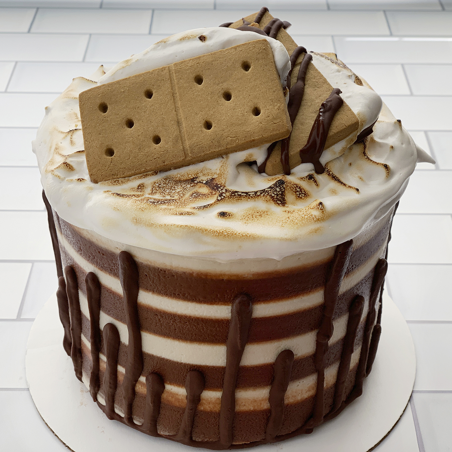 S'Mores Cake by The Allergy Chef