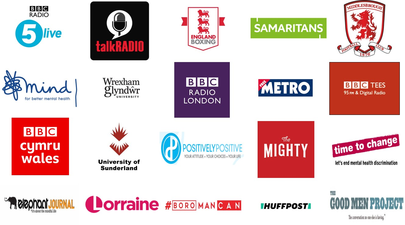 Some organisations that Matthew has worked with and been featured by: