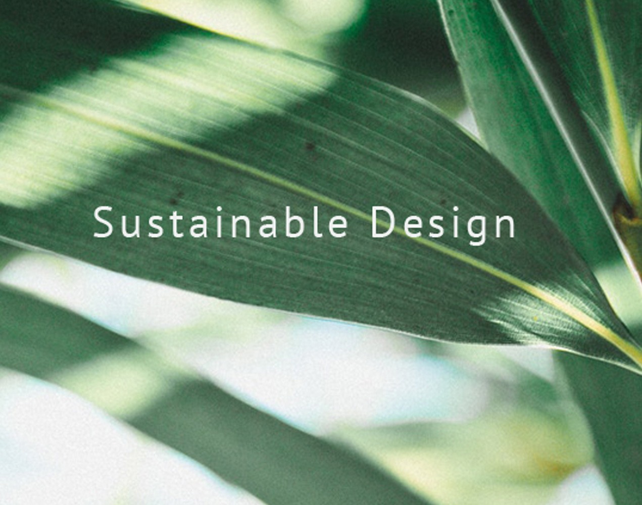 Get started with sustainable design