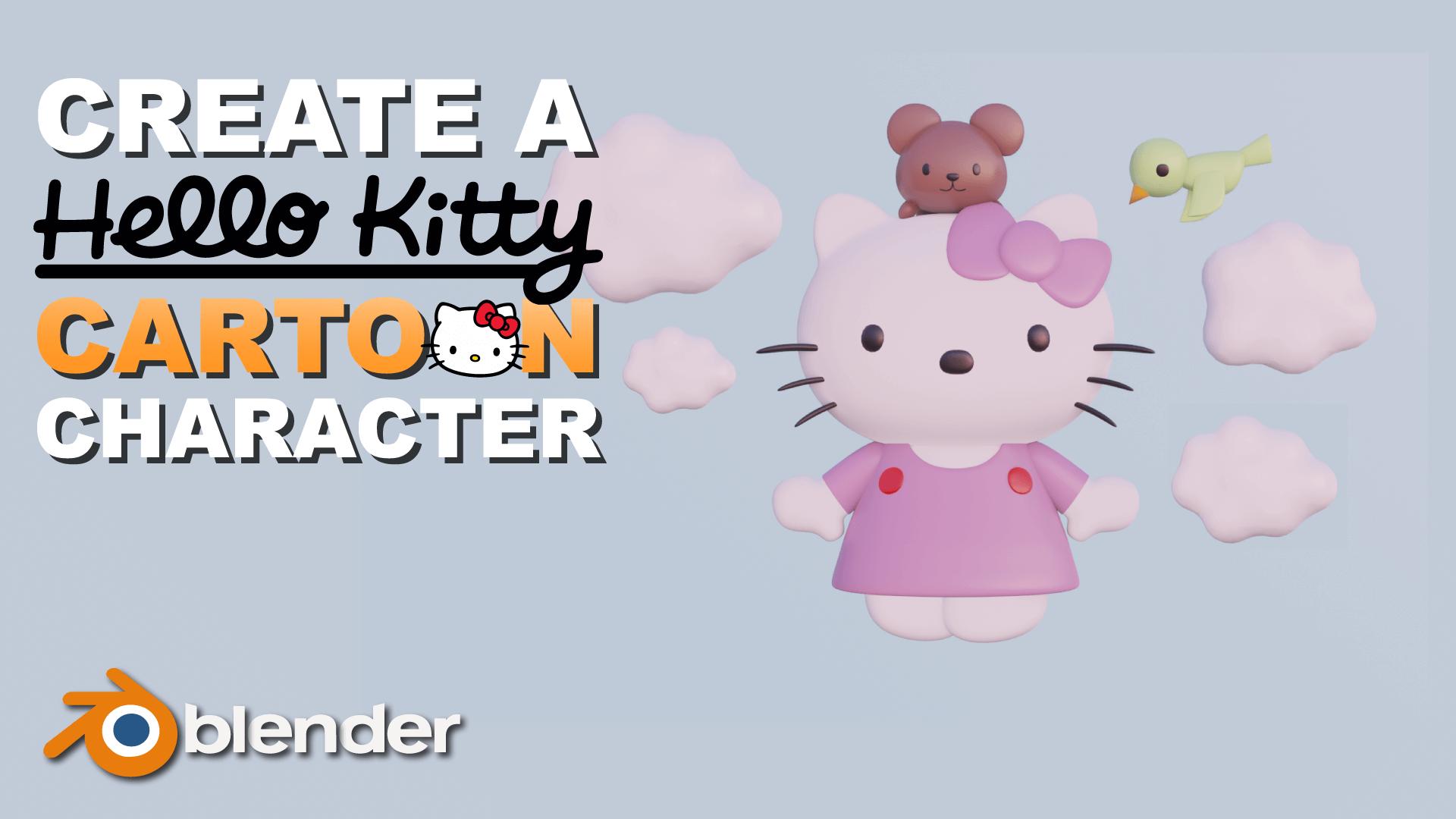 3D Hello Kitty Chara