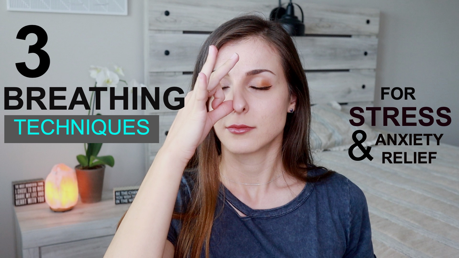 3 Breathing Techniques for Anxiety relief