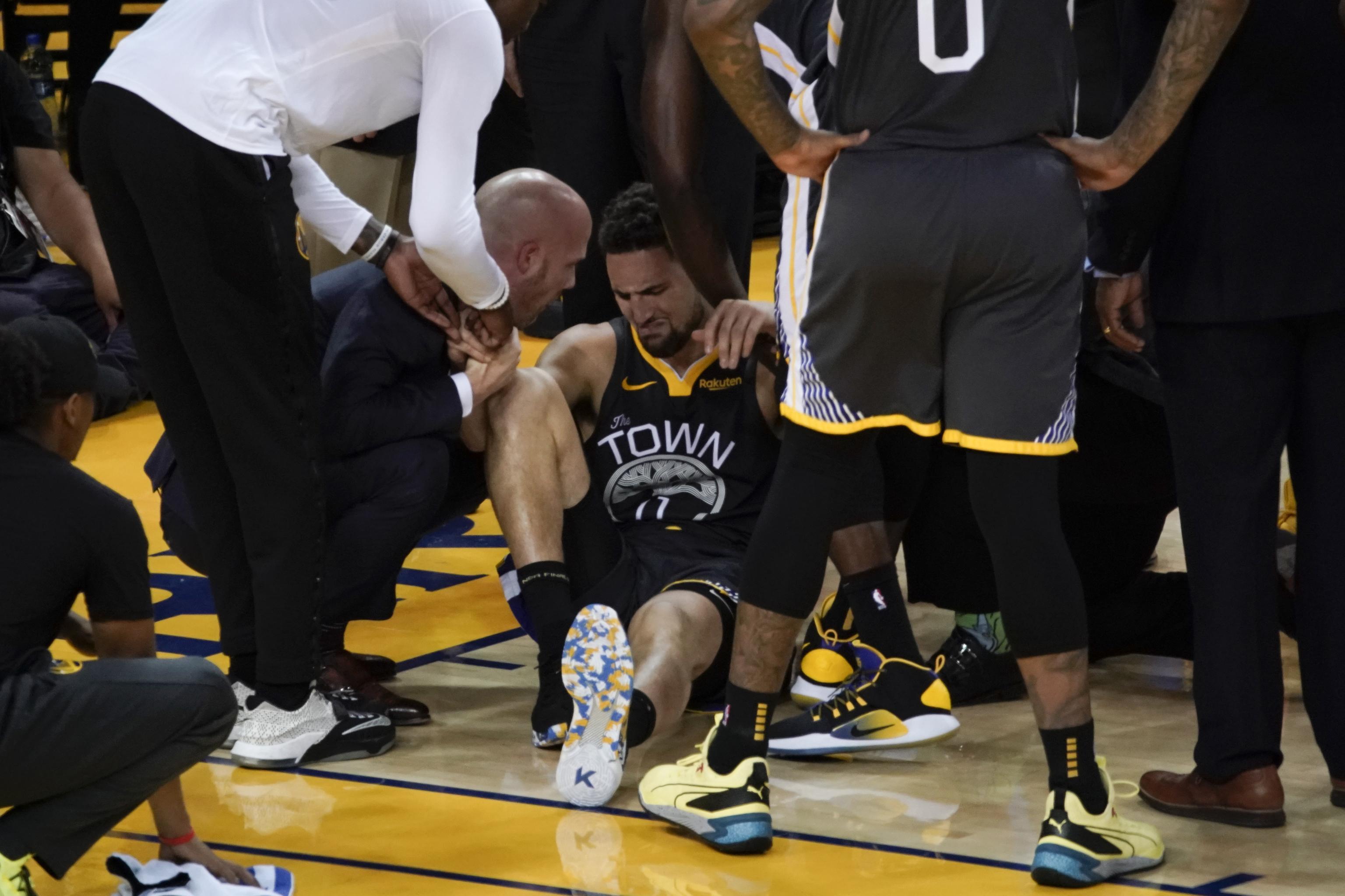 Image: Klay Thompson ACL Injury