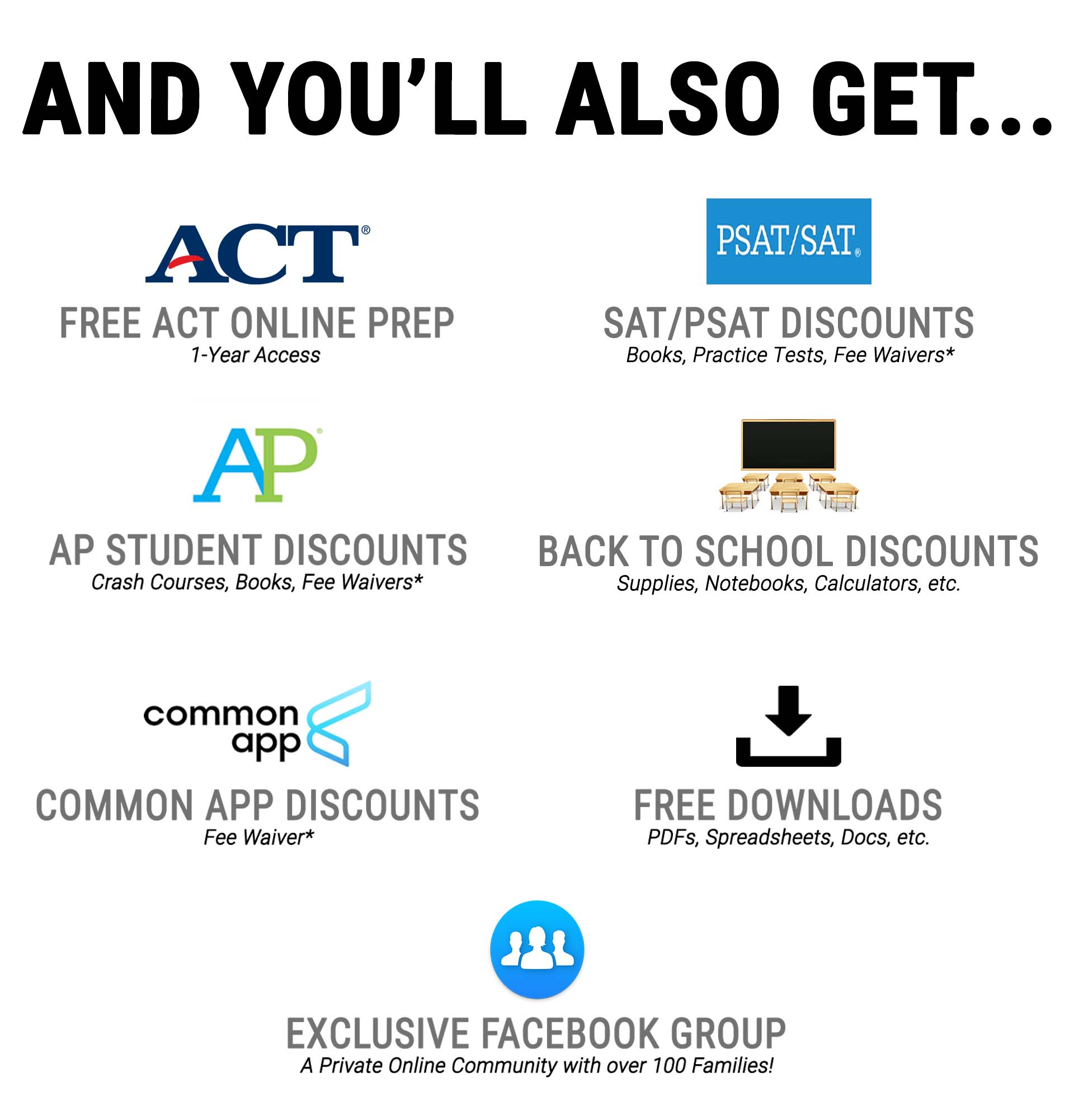 And you will also get... Best College Aid Bonuses