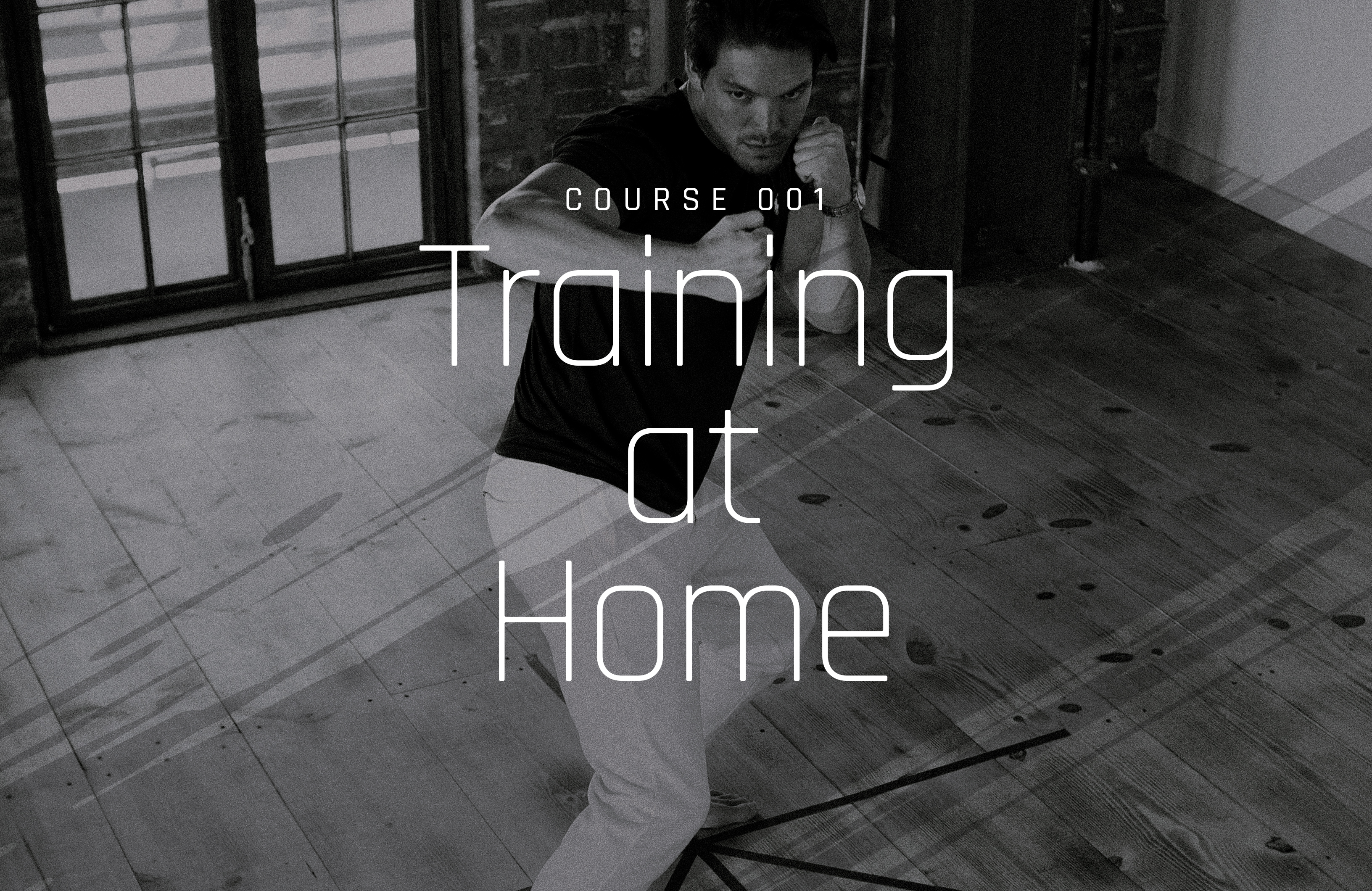 Noah Fleder training at home with Bushido Icon Training Gear