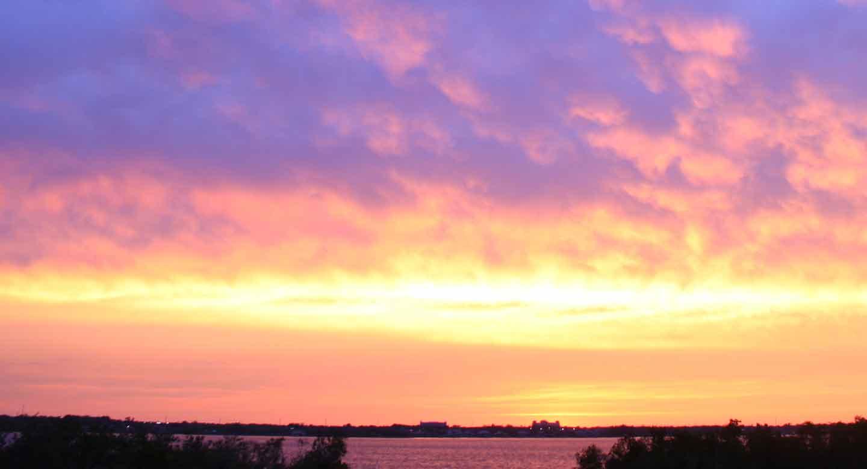 Sunset at Aquaterra