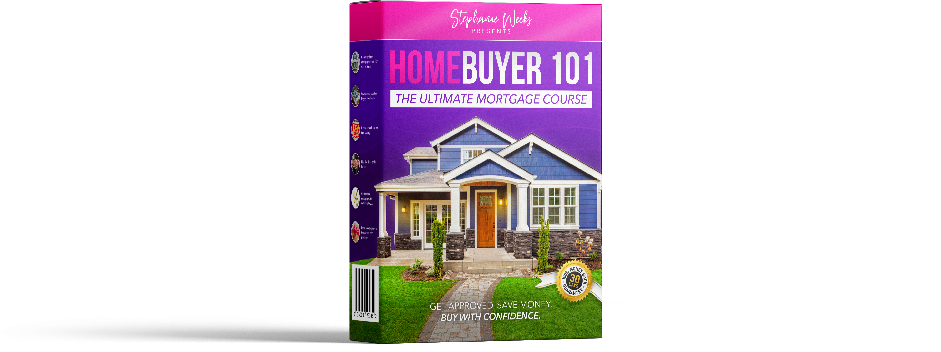 Box with Homebuyer 101 The Ultimate Mortgage Course Branding