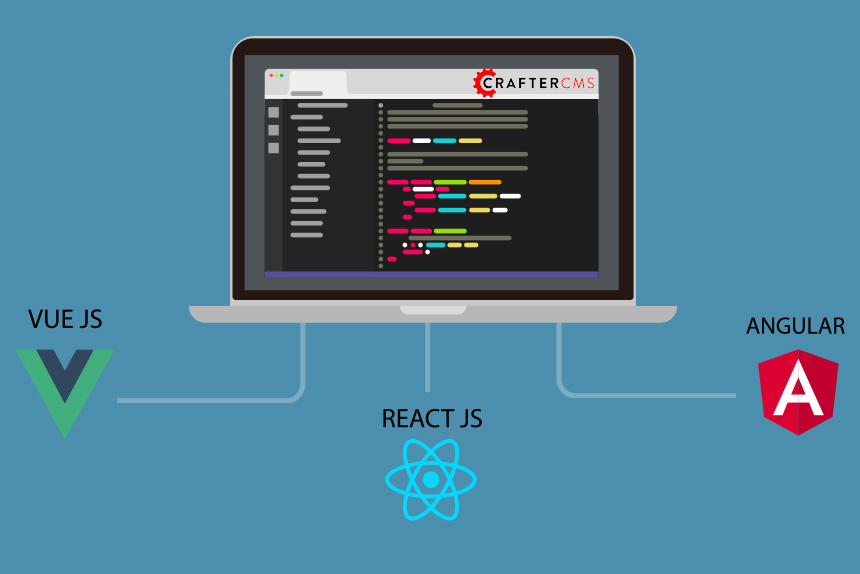 Crafter CMS Development with Vue, React and Angular