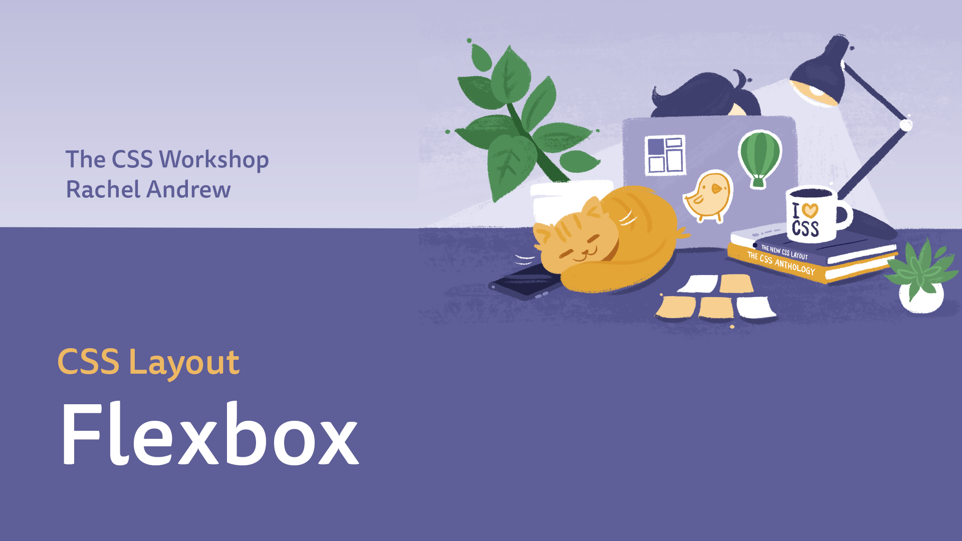 CSS Flexbox course cover