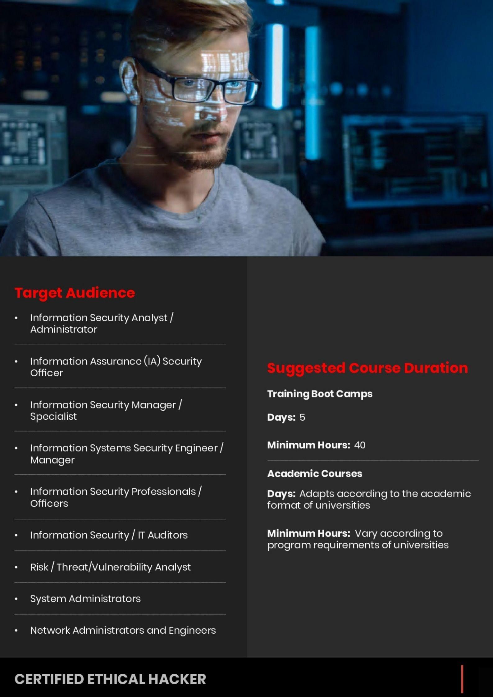 Ethical Hacker Cybersecurity eccouncil