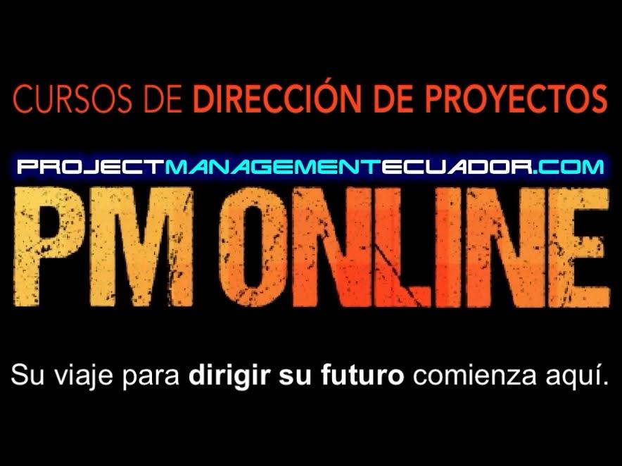 PM Online - Project Management Ecuador - Su viaje para dirigir su futuro comienza aquí.
