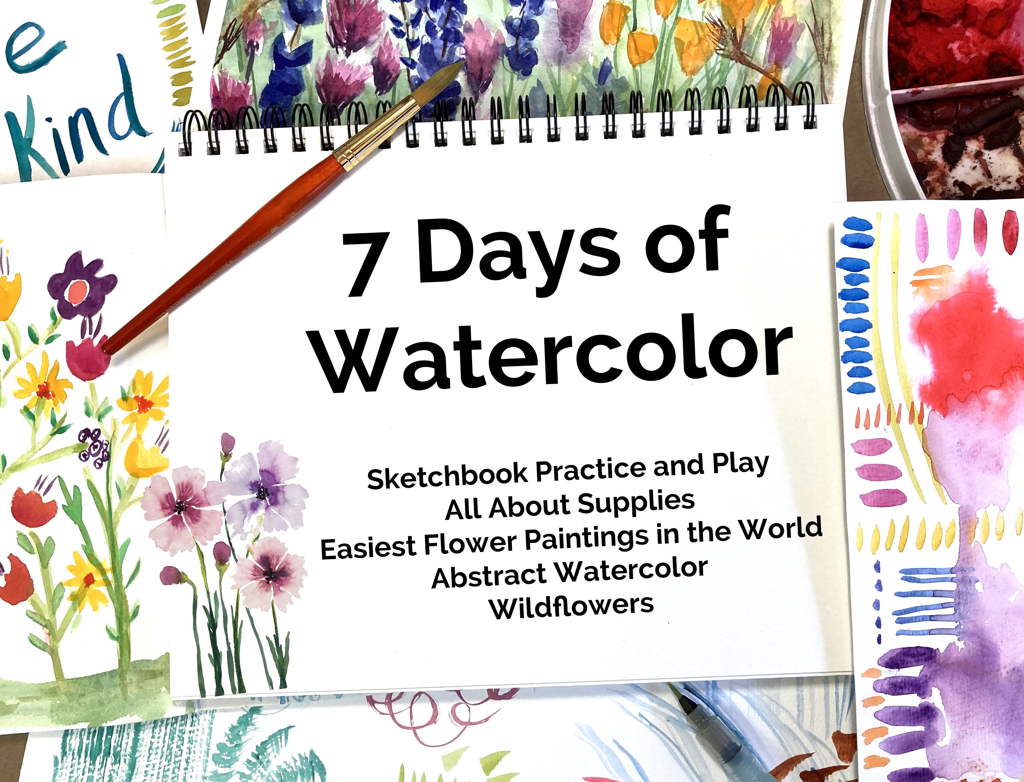 7 Days of Watercolor Mini Course