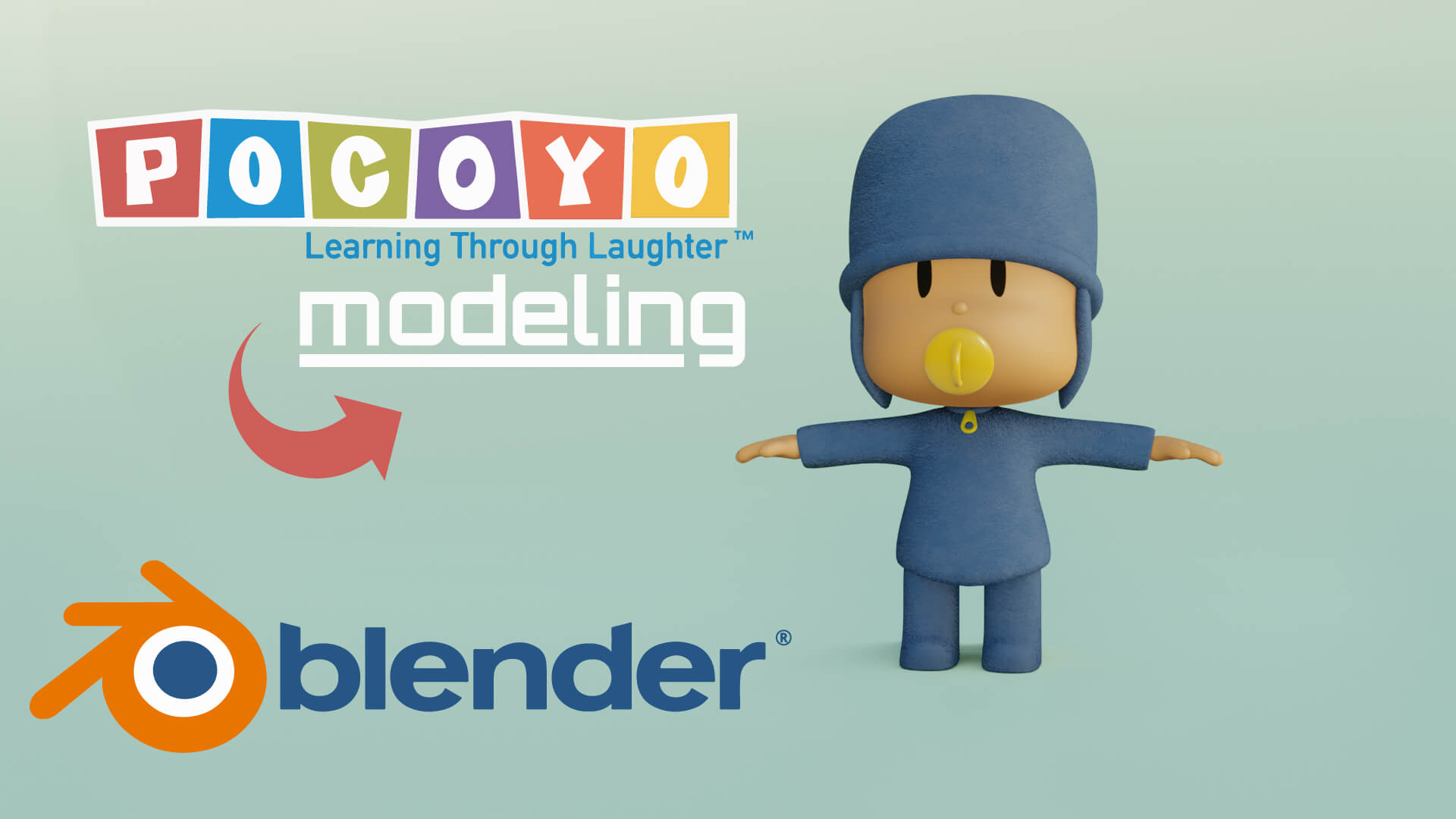 3D Pokoyo Character Modeling Blender Academy Course