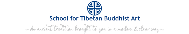 Logo School for Tibetan Buddhist Art