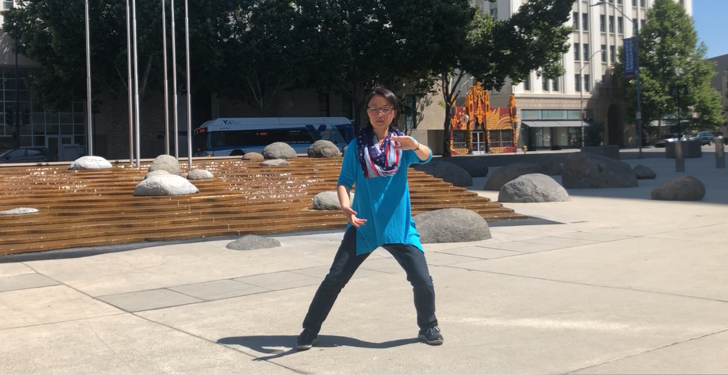 video of tai chi cloud hands