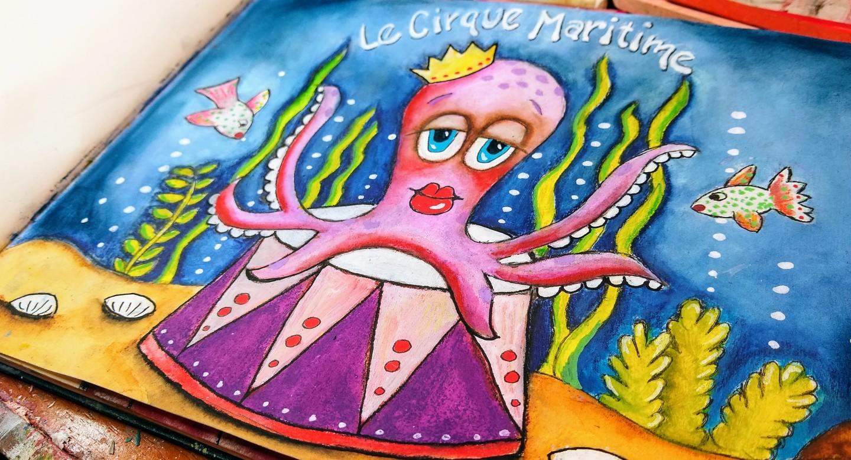 photo of octopus circus