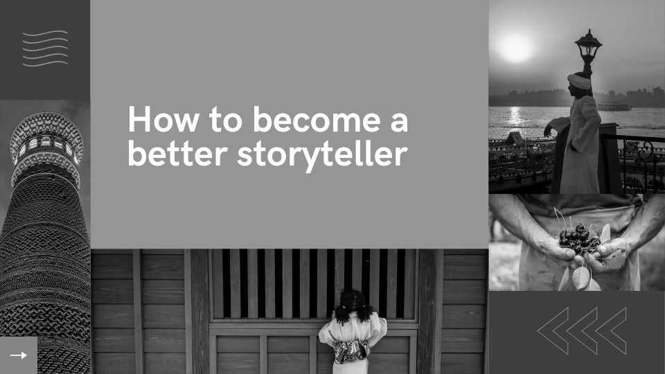 MASTERCLASS - How to become a better storyteller  - Lola Akinmade Åkerström