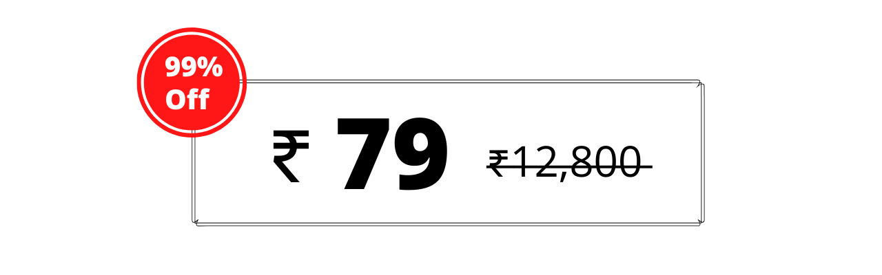 price for the web design course