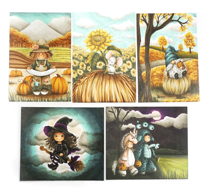 Fall Online Copic Marker Training Course - My Creative Scoop - Mindy Baxter