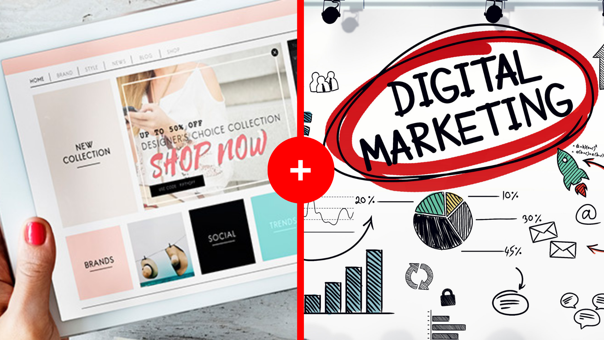 Curso de Marketing Digital +Curso de eCommerce