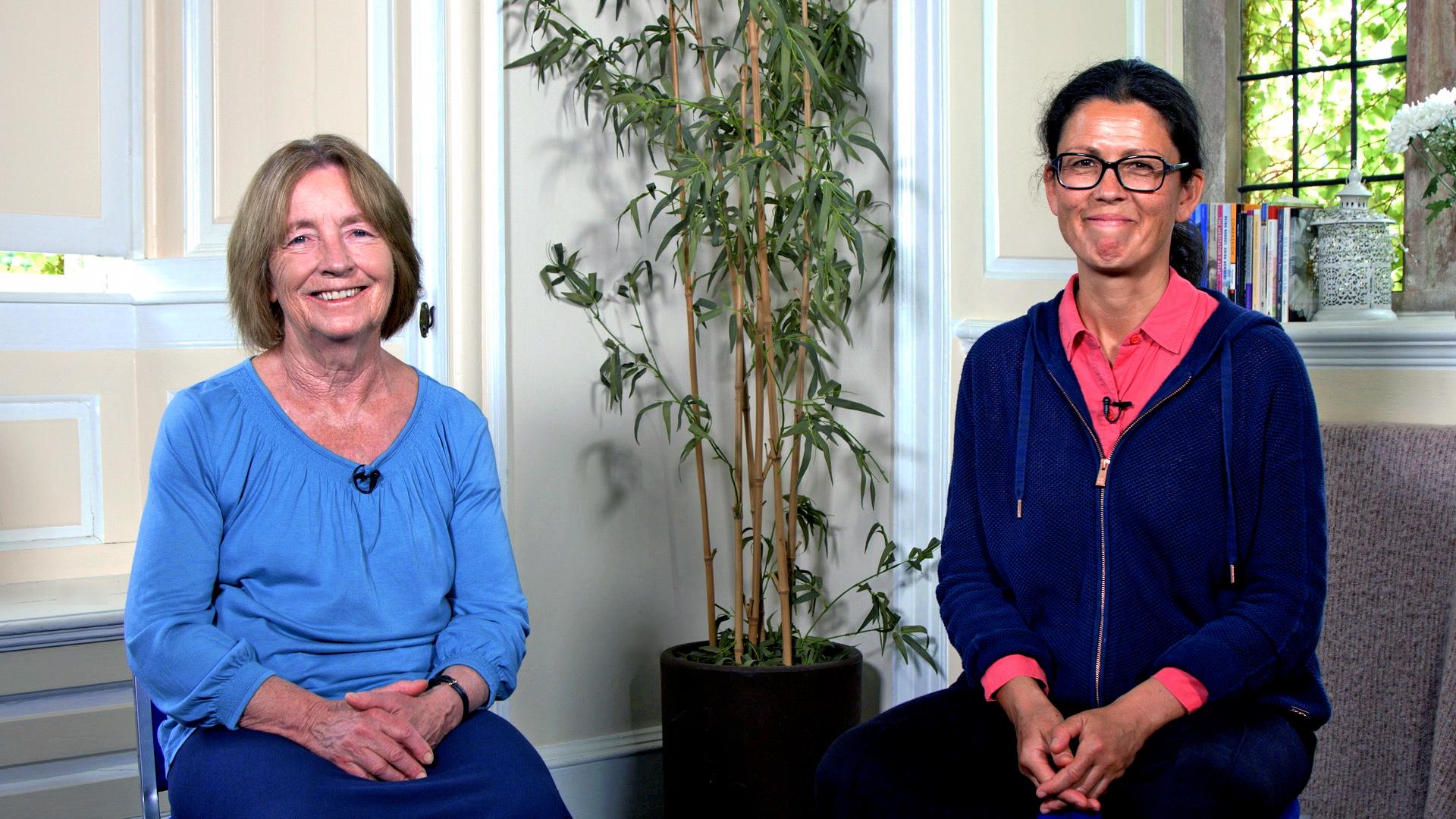 Christina Feldman and Jaya Rudgard
