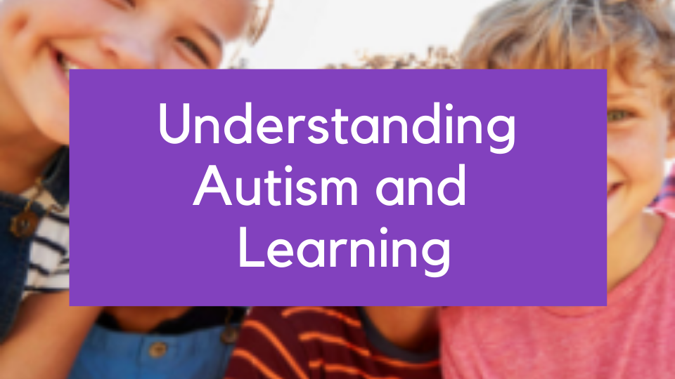 Understanding autism and learning online course training teachers parents