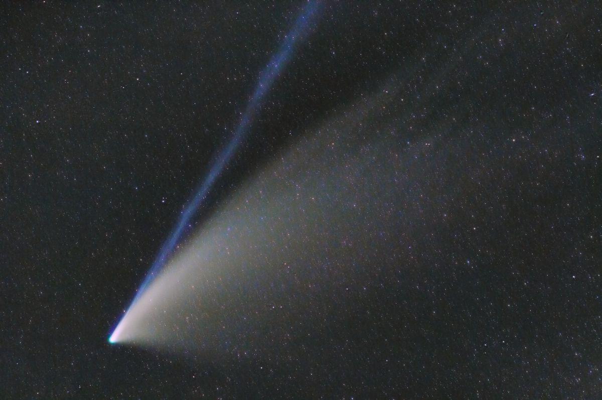 Cometa Neowise procesado en Pixinsight