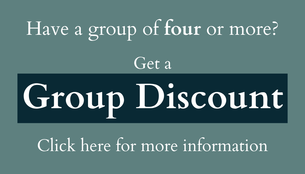 Have a group of four or more?  Click here for a group discount.