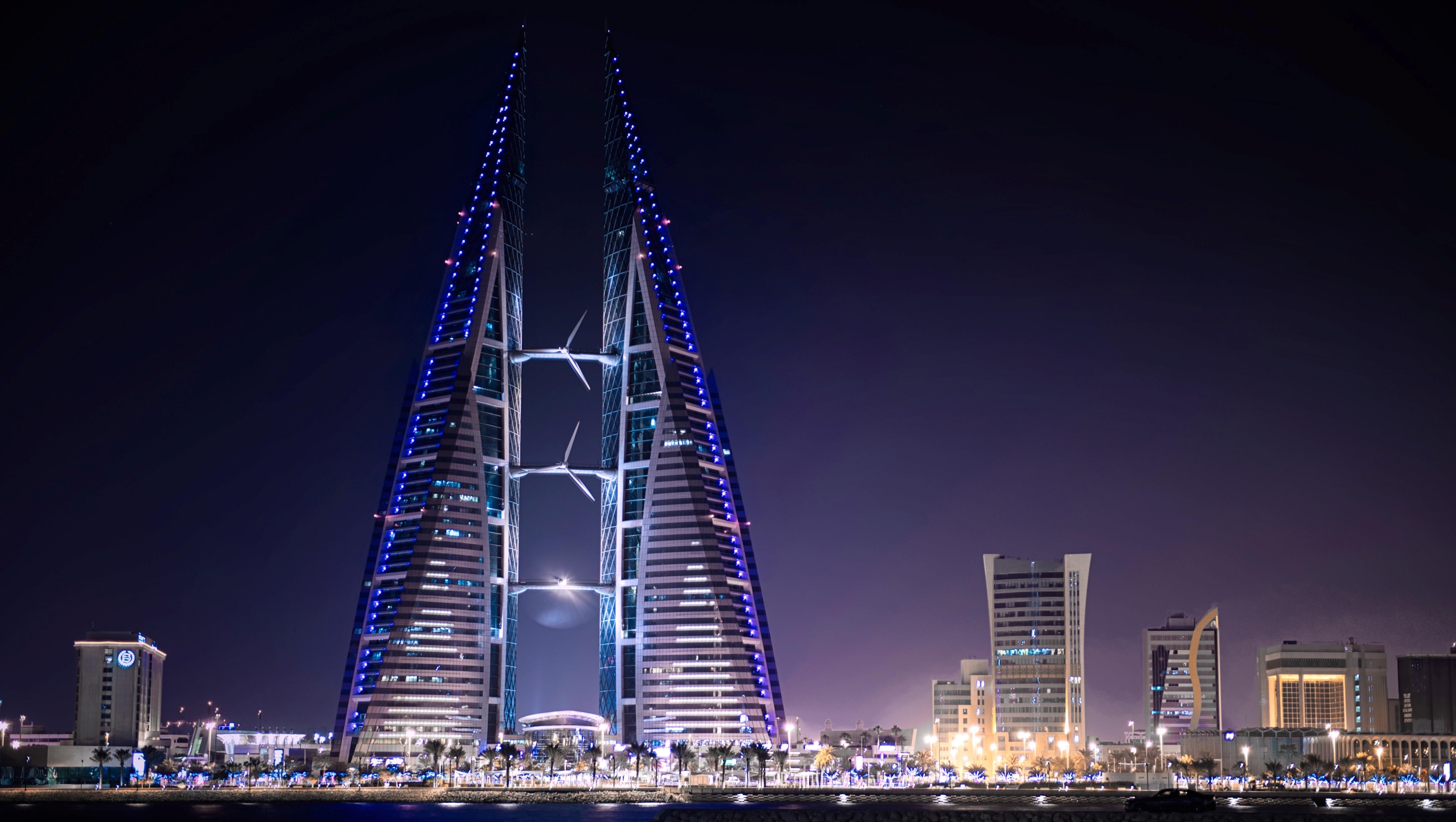 Bahrain Night City Scape