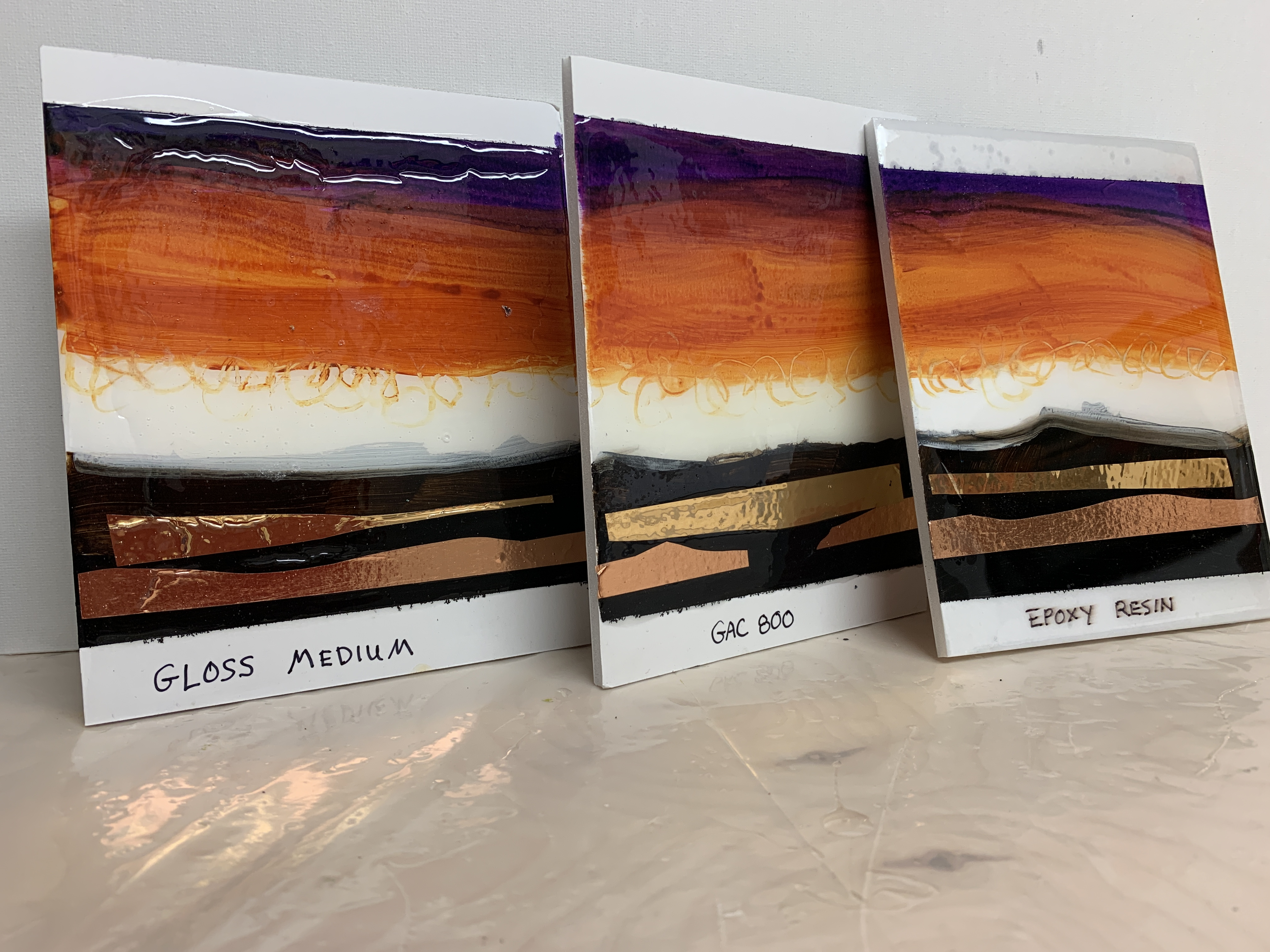 Glossy Finishes for Artwork