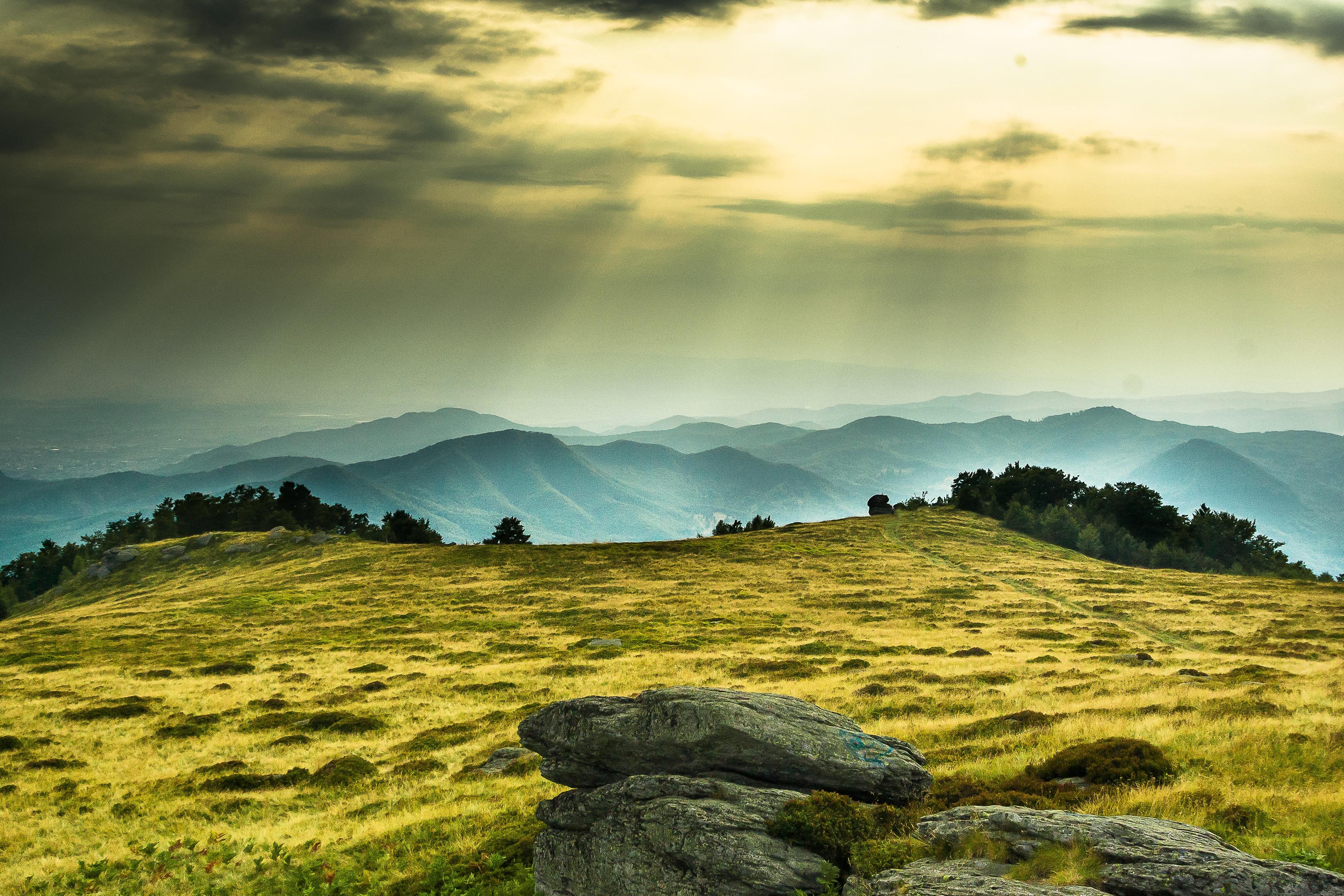 Vackert landskap