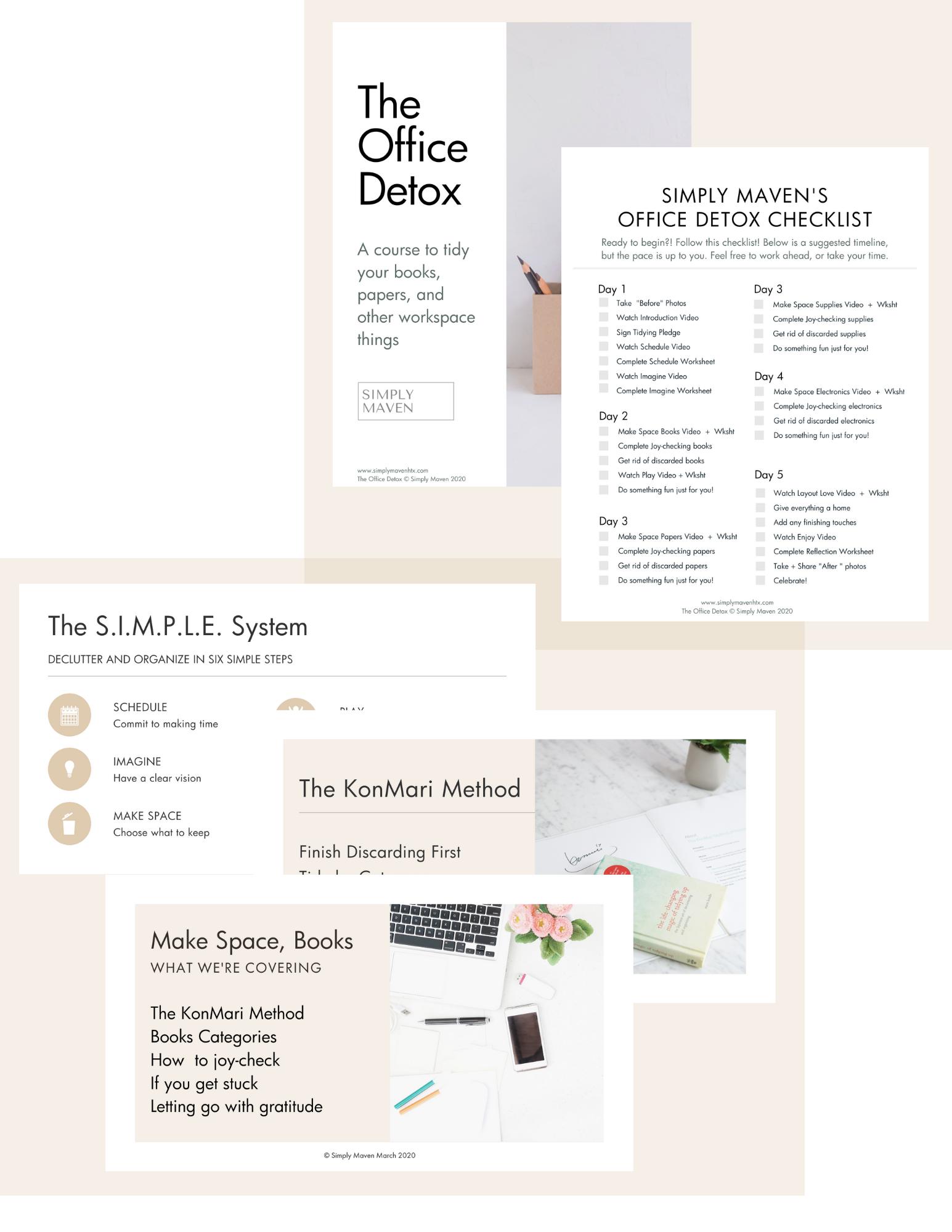 The Closet Detox - Online Course to KonMari your Clothes