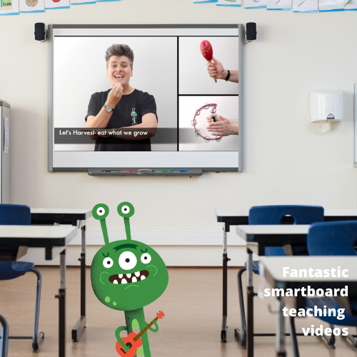 example of Go Kid Music smartboard resources