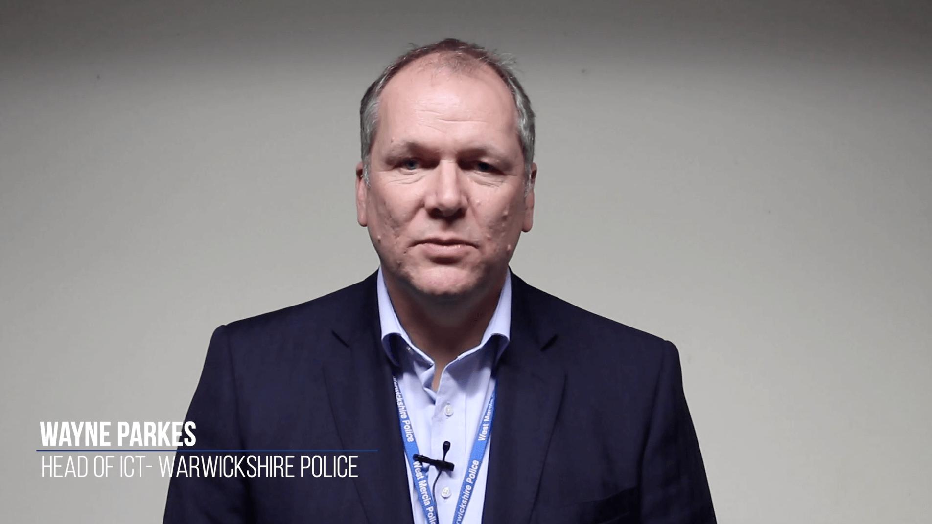 Cybersecurity training Warwickshire Police