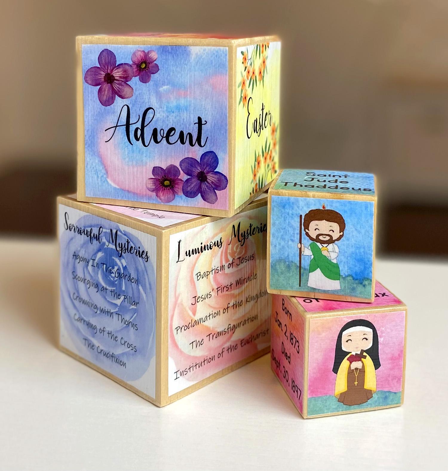 Printable Block Crafts