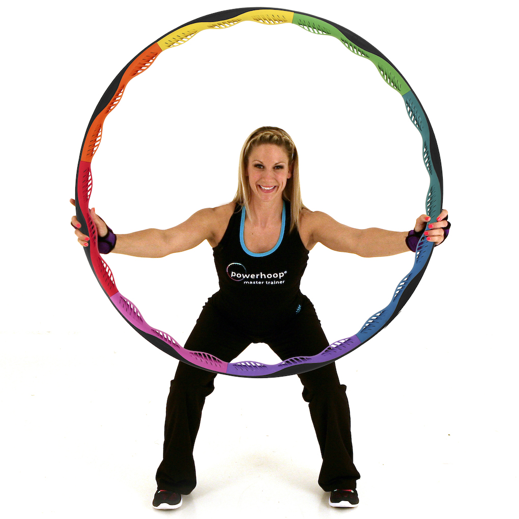 Kerry the fitness hoop instructor