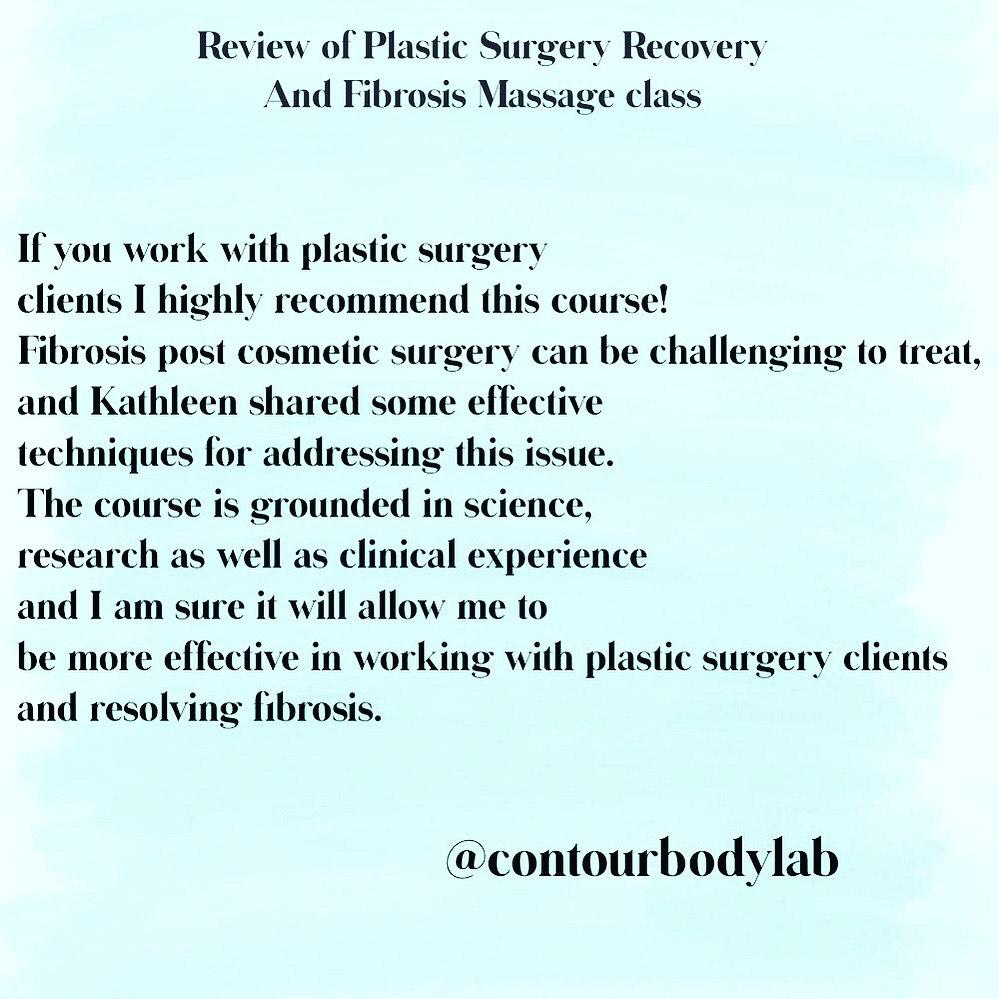 fibrosis massage therapist liposuction