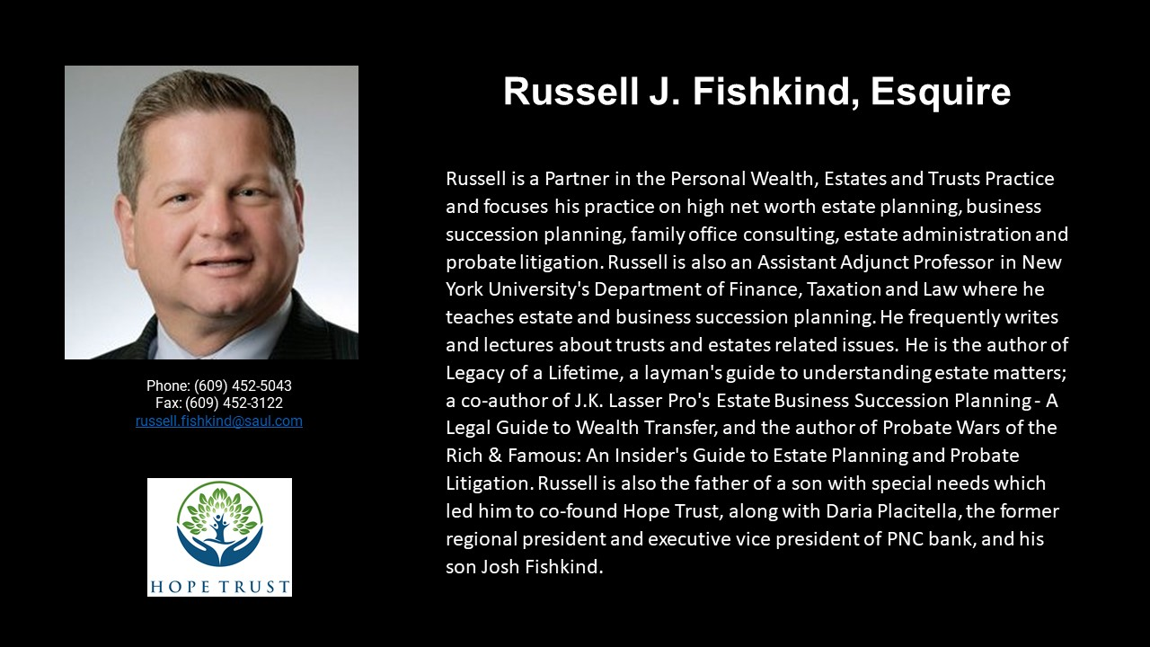 APEG Russell J. Fishkind, Esquire