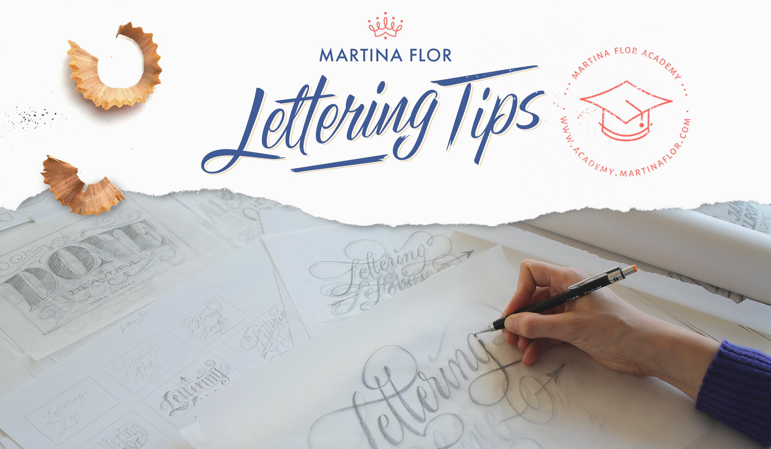 Lettering Tips
