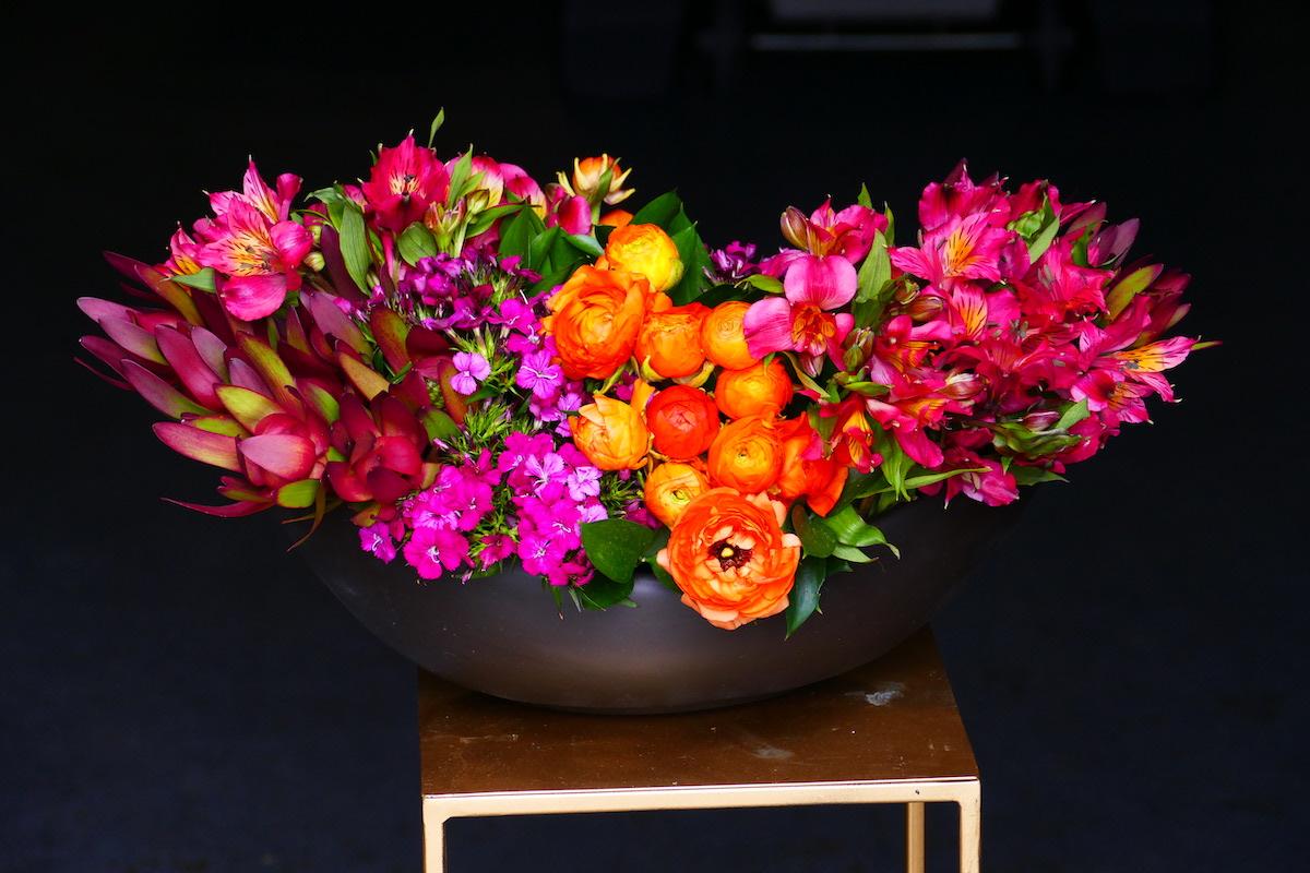 Flower Fridays: Bold Boat Vase