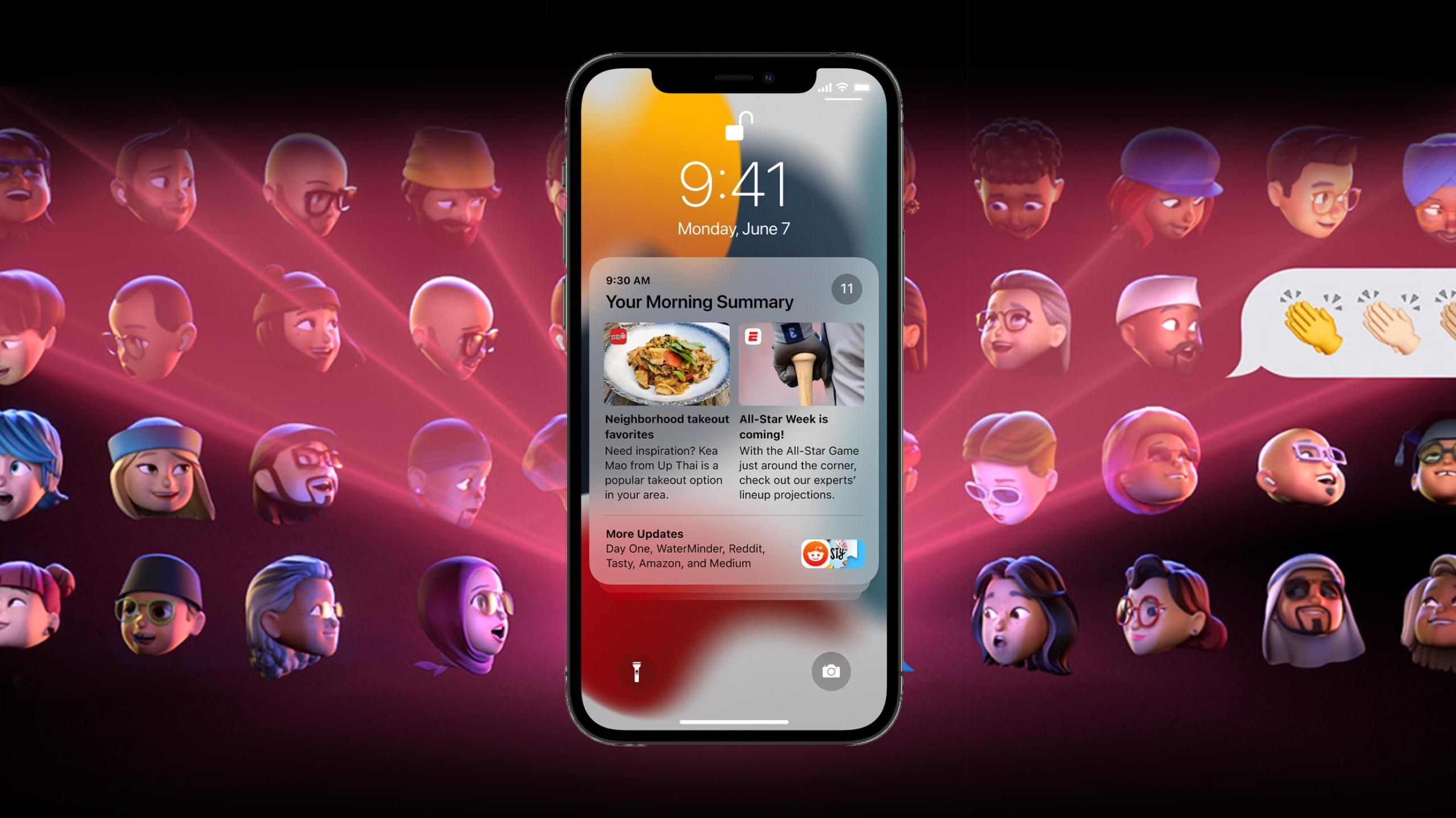 Les nouveautés de iOS 15